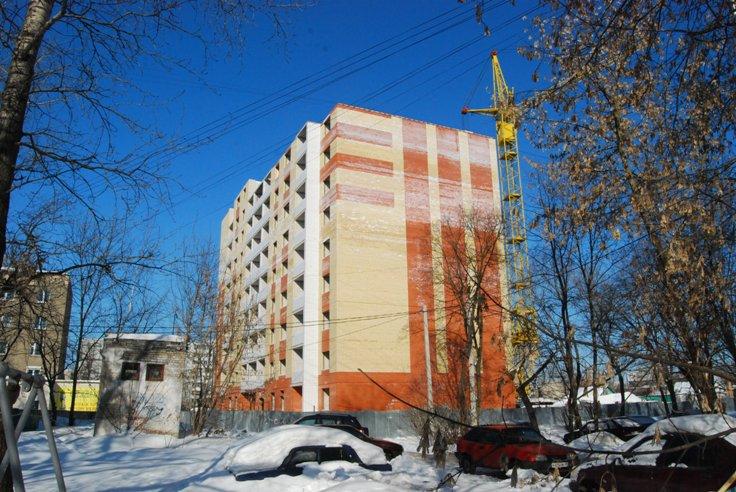 Строительство домов многоквартирных